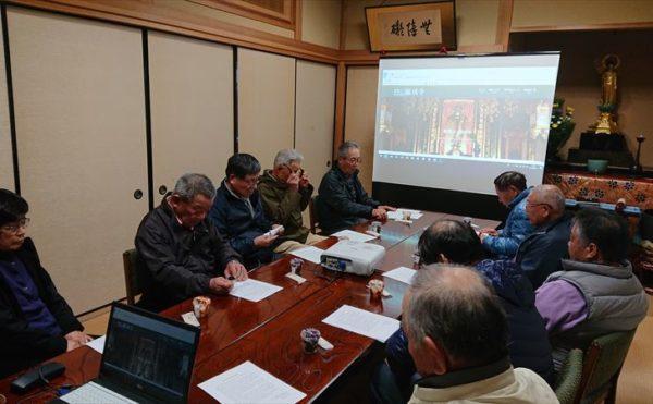 第三回本堂建設委員会